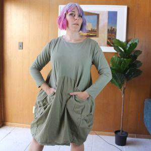 Vasna Cocoon Parachute Dress